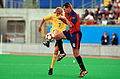221000 - Football David Barber action 3 - 3b - Sydney 2000 match photo.jpg