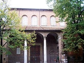 Santa Sabina - Side portico.