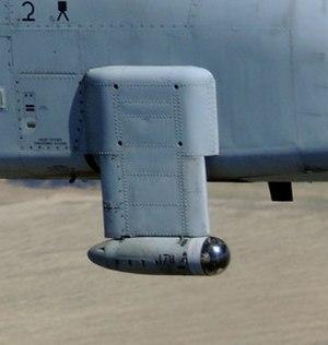 Pave Penny - An A-10 Thunderbolt II's Pave Penny pod.