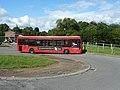 246 bus leaving Westerham car park - geograph.org.uk - 2572887.jpg
