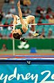 251000 - Athletics field high jump Lisa Llorens action - 3b - 2000 Sydney event photo.jpg