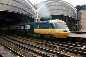 Passenger rail franchising in Great Britain - Before privatisation: an InterCity train owned and operated by British Rail