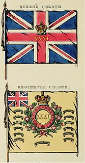 31st (Huntingdonshire) Regiment of Foot