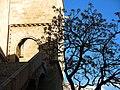 361 Torres dels Serrans (València), porta d'entrada a la planta noble, torre de ponent.jpg