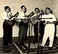 4.Olimpo Cardenas-Gregorio Nanceno guitar, Eddie Romero, guitar, Jesus Cardona Requinto.jpg