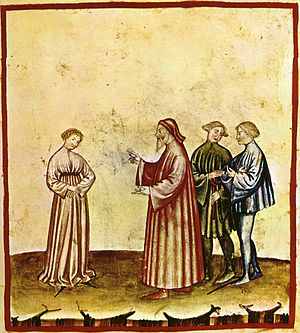 Discretion - Discretion, Tacuinum Sanitatis casanatensis (XIV secolo)