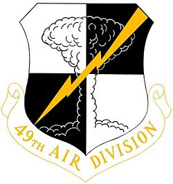 49th Air Division crest
