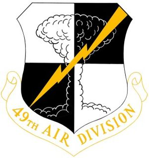 49th Air Division - Image: 49th Air Division crest