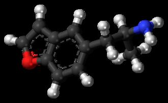 5-APB - Image: 5 APB molecule ball