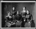 5 female Negro officers of Women's League, Newport, R.I LCCN2001705854.tif