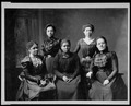 5 female Negro officers of Women's League, Newport, R.I LCCN2001705854.tif