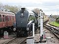 60019 Bittern approaching Minehead on West Somerset Railway (5951320208).jpg