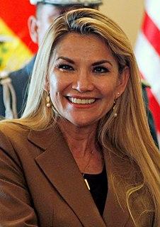 Jeanine Áñez 66th President of Bolivia