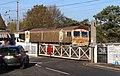 "66 721 ""Harry Beck"" leads the Great Northern RHTT set through Elsenham LC.jpg"