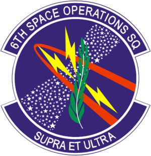 6th Space Operations Squadron - 6th Space Operations Squadron emblem