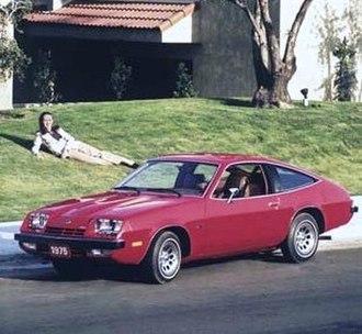 Chevrolet Monza - Image: 75 Chevy Monza 2+2