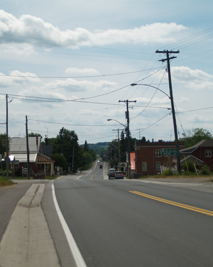 Ontario Highway 7A - Highway 7A in Bethany