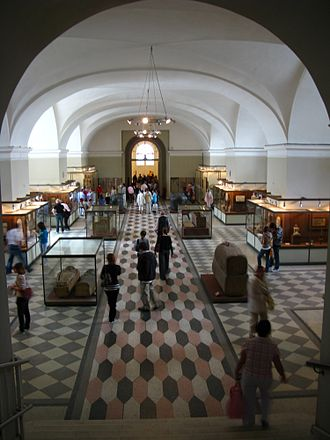Hermitage Museum - Egyptian Hall