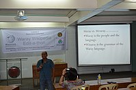8th Waray Wikipedia Edit-a-thon 02.JPG