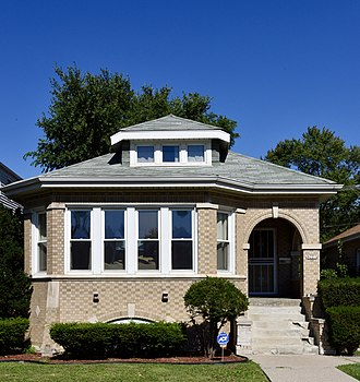 National Register of Historic Places listings in South Side Chicago - Image: 9227 S. Racine St