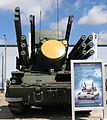 96K6 Pantsir-S1 tracked at Engineering Technologies 2012 Front.jpg