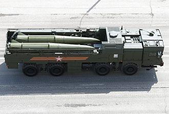 9K720 Iskander - 9T250-1 Transporter and loader vehicle