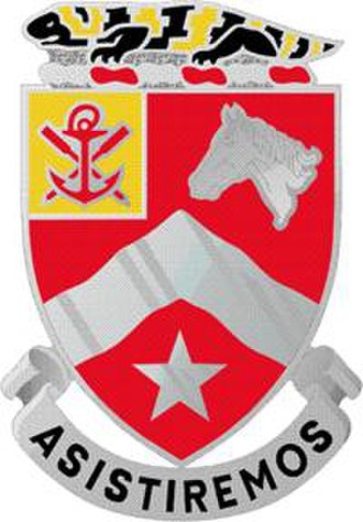 2nd Cavalry Division (United States) - Image: 9 Eng Bn DUI