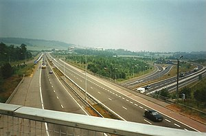 A21 road (England) - A21 through Chevening Interchange