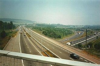 A21 road (England) - A21 through Chevening Interchange