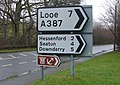 A387 Road Signs - geograph.org.uk - 342927.jpg