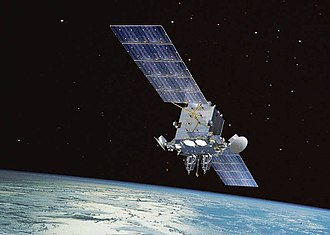 Communications satellite - Image: AEHF 1