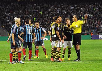 Tvillingderbyt - Image: AIK Djurgården (2013)