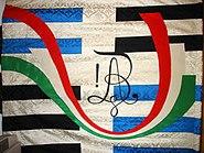 AKV Alemannia 6. Fahne 1995 Rückseite