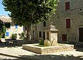 ALBA-LA-ROMAINE.Vue du village.JPG