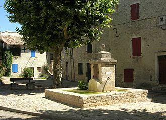 Alba-la-Romaine - View of the Village
