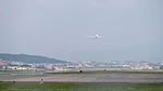 ANA Boeing 787-8 JA834A Taking off from Taipei Songshan Airport 20150101.jpg