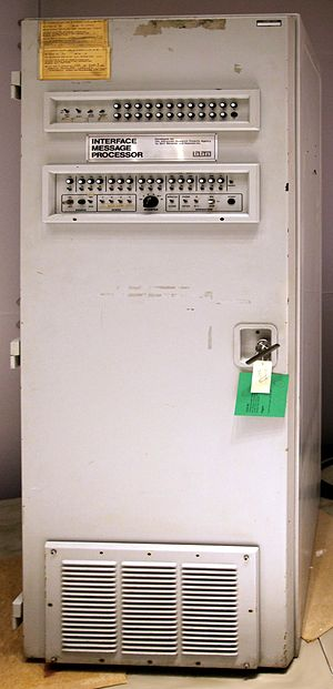 Router (computing) - The first ARPANET router, the Interface Message Processor delivered to UCLA August 30, 1969, and went online October 29, 1969
