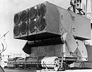 ASROC launcher USS Columbus 1962