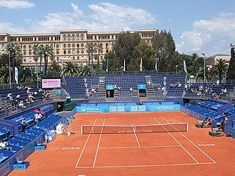Nice Lawn Tennis Club - Image: ATP Nice 2010 001