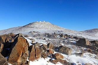Desert climate - Image: A Dusting of Snow in the Atacama desert