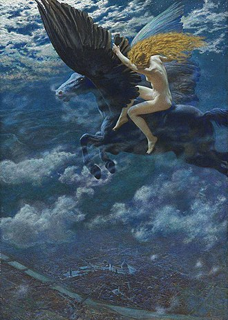 Witchcraft - A Witch, 1902, by Edward Robert Hughes
