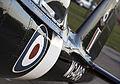 A close up of Battle of Britain Memorial Flight Chipmunk WG486 at RAF Coningsby. MOD 45158893.jpg