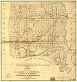A map of part of Alabama & Florida, showing the route of the proposed Columbus & Pensacola Rail Road, accompanying the report of Major J. D. Graham, U.S. Topographical Engr. Feb. 6th, 1836; drawn LOC 98688639.jpg