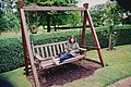 A seat in the Swinging Garden at Buscot Park - geograph.org.uk - 1229022.jpg