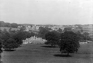A view of Henllan (Dinb) from Llysmeirchion
