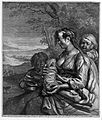 A woman breast feeding her baby and looking after two small Wellcome L0005958.jpg