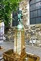 Aachen - Fischpüddelchen – Brunnen am Dom von Hugo Lederer - panoramio.jpg