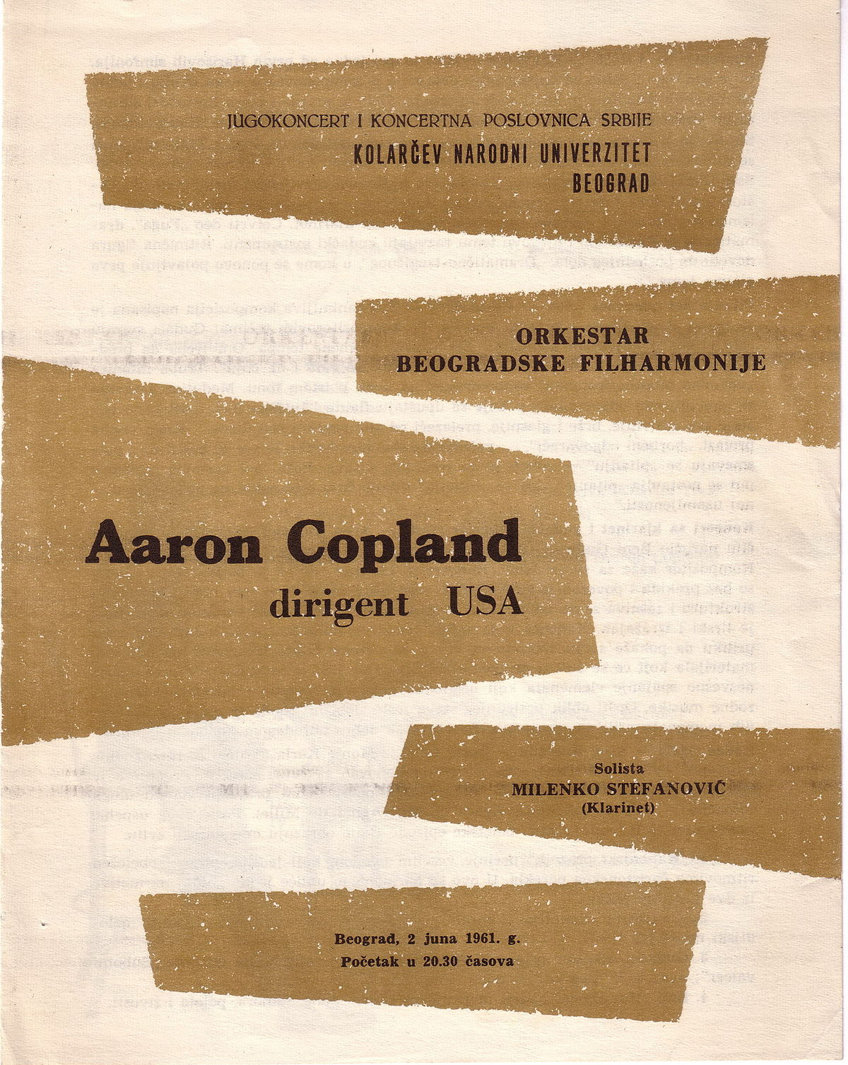 aaron copland essay Aaron copland was the embodiment of what a composer can hope to become copland was very much in touch not only with himself and his feelings, but with the audience he intended to reach.