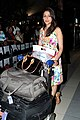 Aarti Chabria returns from IIFA 2012 02.jpg