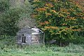 Abandoned Camping Hut near Wass, North Yorkshire - geograph.org.uk - 73880.jpg